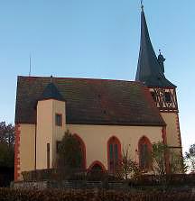 Kirche in Rosenberg-Sindolsheim