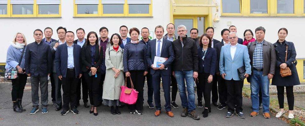 chinesische Delegation zu Gast im RIO