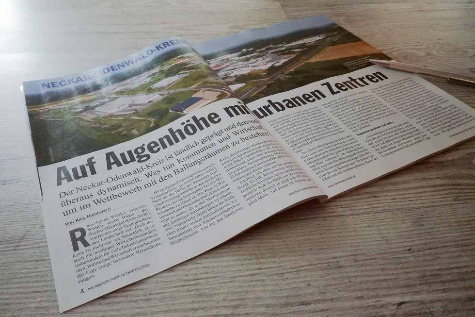 IHK Magazin mit Bericht über den RIO