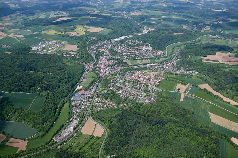 Luftbild Adelsheim